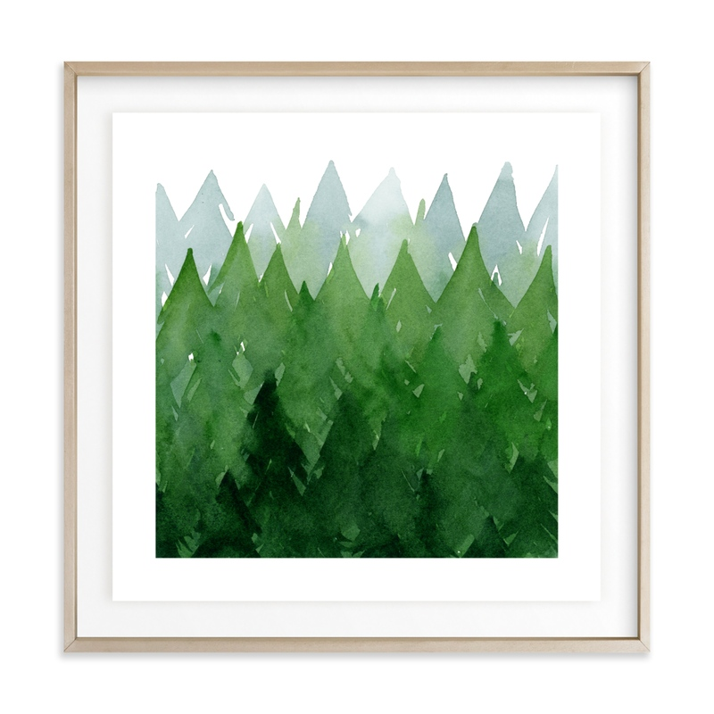 Forest Children's Art Print