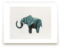 Paper Animals: Elephant by Maja Cunningham