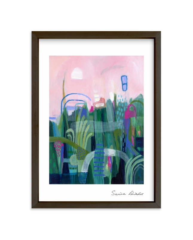 """""""Feel So Fine"""" - Limited Edition Art Print by Sarina Diakos in beautiful frame options and a variety of sizes."""