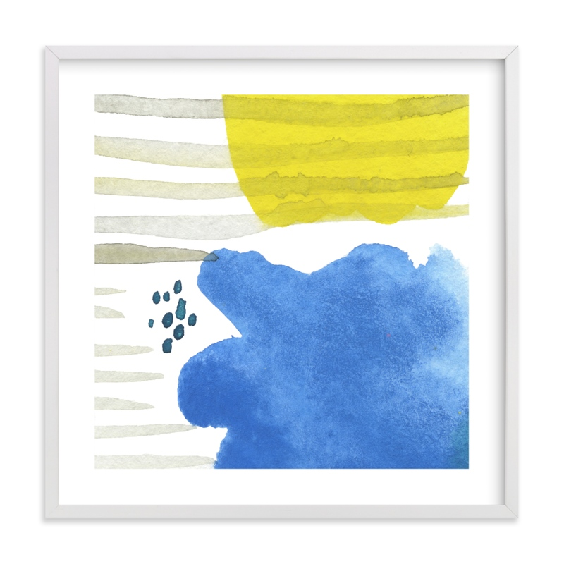"""""""Sun and Rain"""" - Limited Edition Art Print by Simona Camp in beautiful frame options and a variety of sizes."""