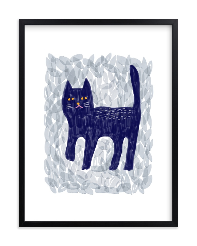 """""""wild cat 2"""" - Limited Edition Art Print by iamtanya in beautiful frame options and a variety of sizes."""
