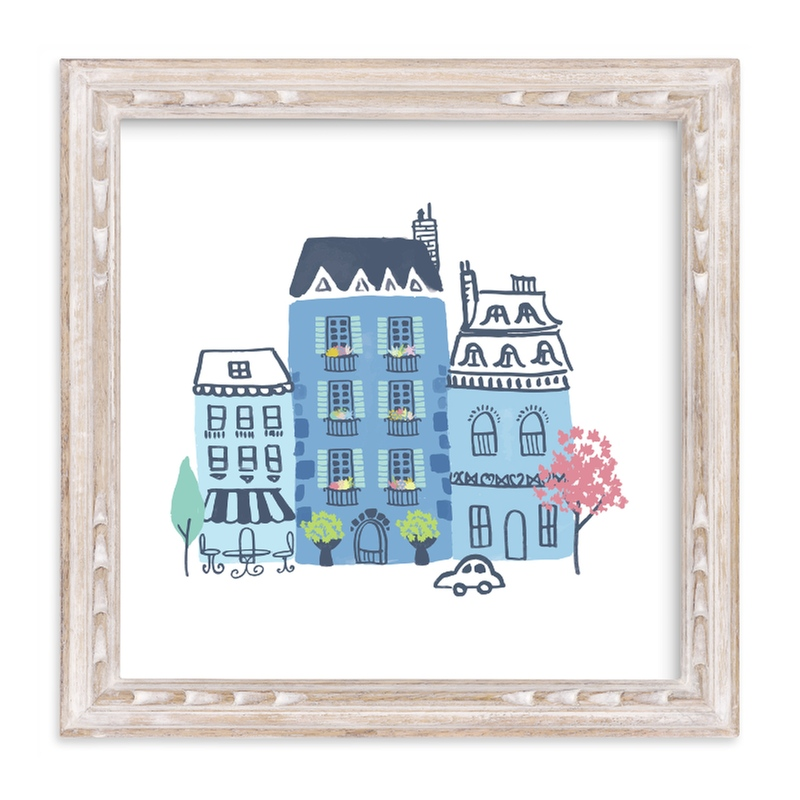 """""""Paris, J'adore"""" - Limited Edition Art Print by Ali Macdonald in beautiful frame options and a variety of sizes."""