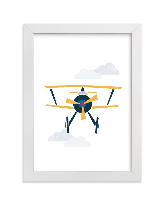 """""""Stacked Plane"""" by Jennifer Morehead in beautiful frame options and a variety of sizes."""