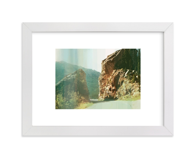 """""""ombre hills"""" by Alison Jerry Designs in beautiful frame options and a variety of sizes."""