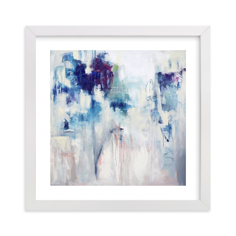 """""""Denim & Pearls"""" by Sherry McAdams in beautiful frame options and a variety of sizes."""