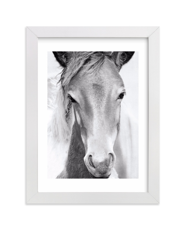 """""""Wild and free."""" by Dawn Smith in beautiful frame options and a variety of sizes."""