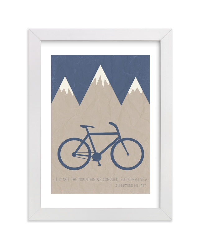 """Conquer"" by Addison Welch in beautiful frame options and a variety of sizes."