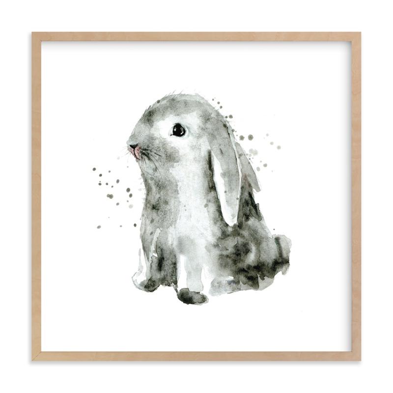 Bunny1 Kids Art Print