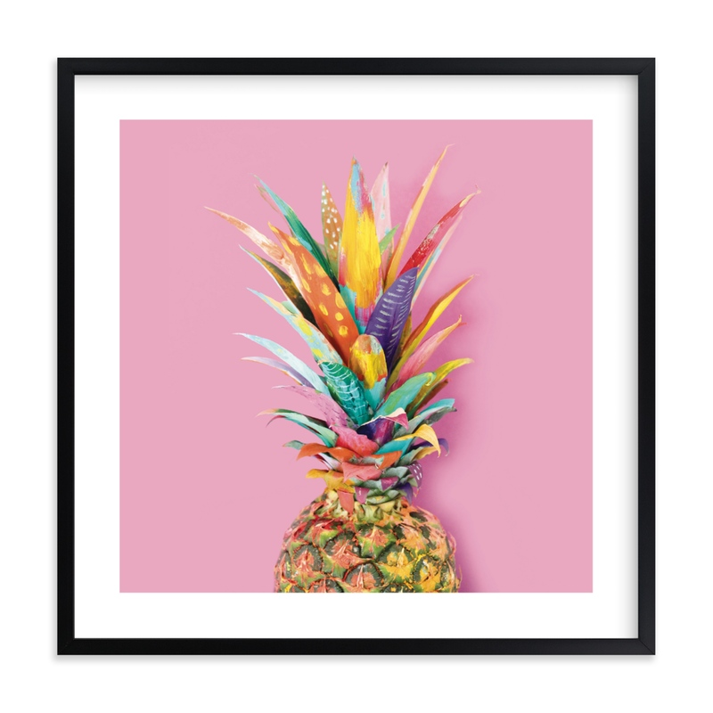 """Pineapple Crown"" by EttaVee in beautiful frame options and a variety of sizes."