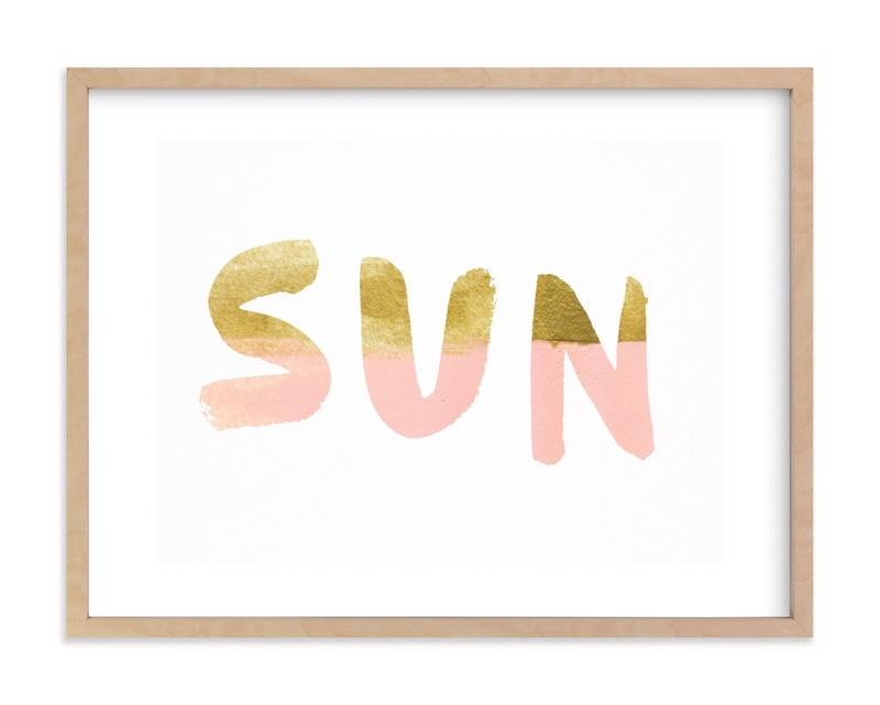Sun and Surf Kids Open Edition Non-Custom Art Print