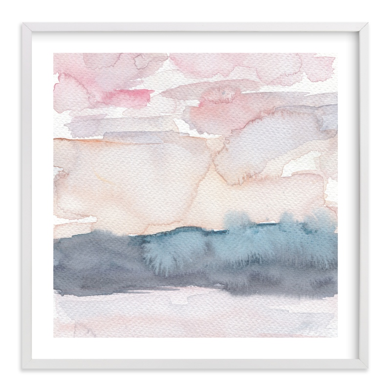 """""""Hebridean Sunset no. 1"""" by Everett Paper Goods in beautiful frame options and a variety of sizes."""