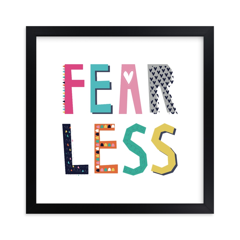 """FearLess"" by Rebecca Humphreys in beautiful frame options and a variety of sizes."