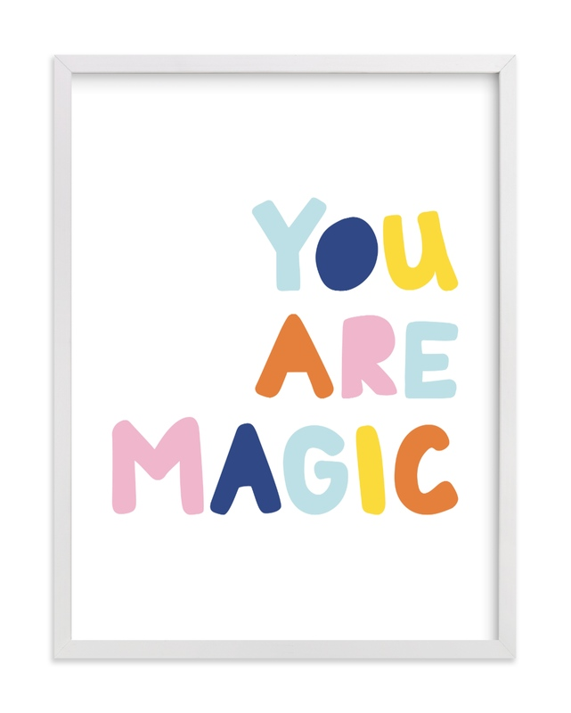 Colorful - You are Magic Kids Open Edition Non-Custom Art Print