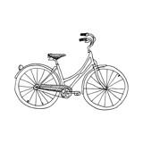 bicycle Kids Open Edition Non-Custom Art Print