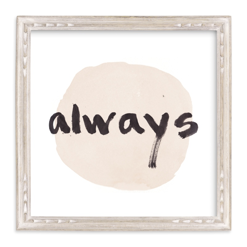 """""""Love Always"""" by Qing Ji in beautiful frame options and a variety of sizes."""