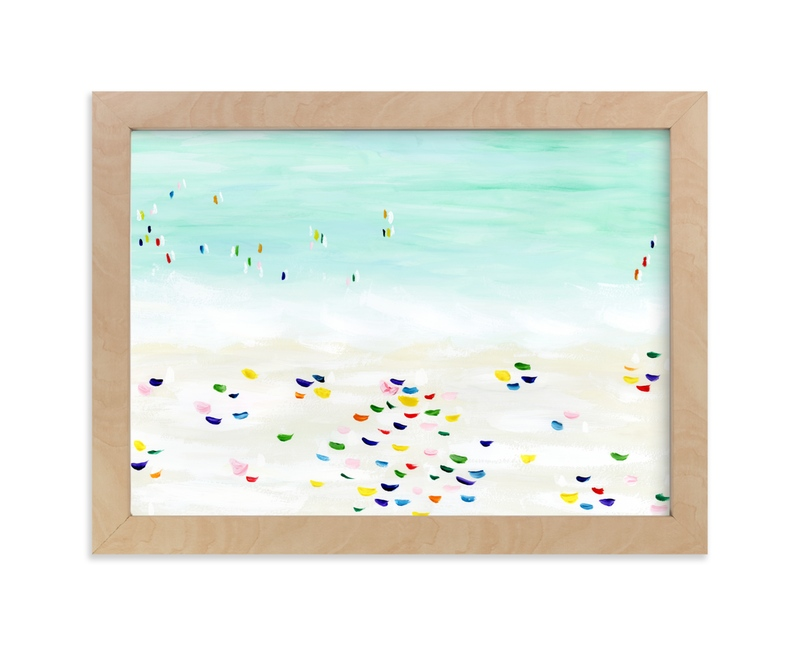 """""""Seaside vacation"""" by Yaling Hou Suzuki in beautiful frame options and a variety of sizes."""