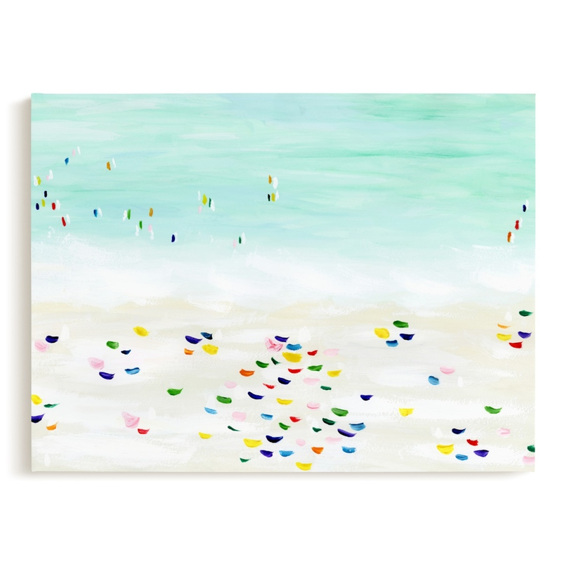 Seaside vacation Kids Open Edition Non-Custom Art Print