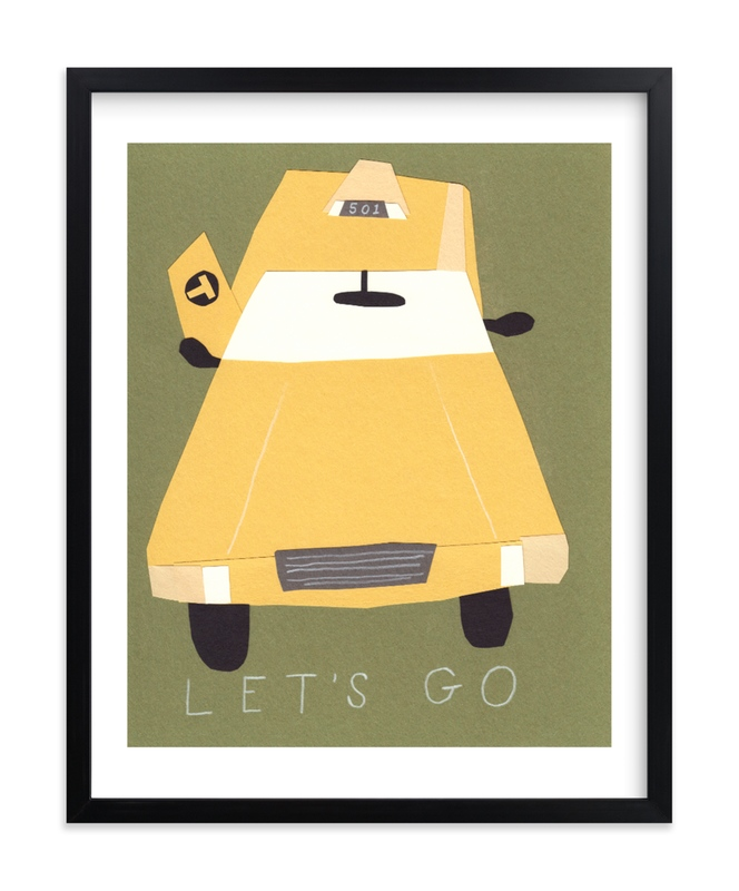 """""""Let's Go"""" by Elliot Stokes in beautiful frame options and a variety of sizes."""