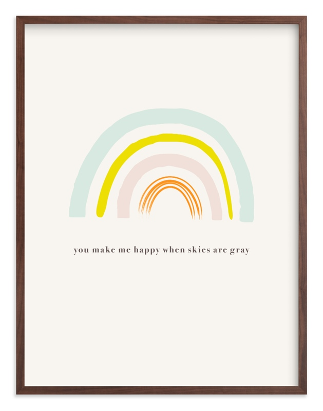 """""""You Make Me Happy"""" by Joyce Pinheiro in beautiful frame options and a variety of sizes."""