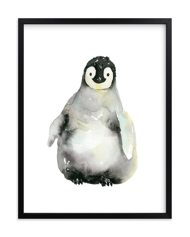 A Shy Hello Children's Art Print