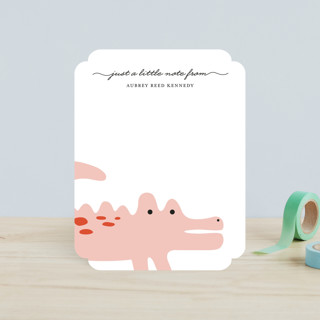 Little Alligator Children's Stationery