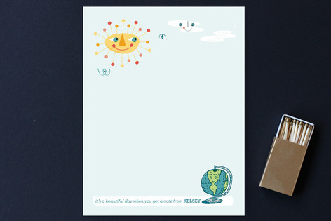 Sunny Day Children's Stationery
