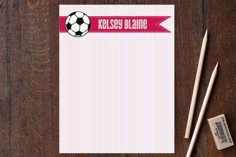 Goal Children's Stationery