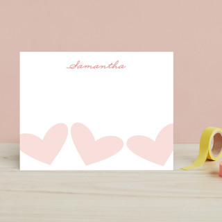 Sweet Hearts Children's Stationery