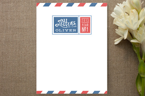 Letters to My Someone Children's Stationery