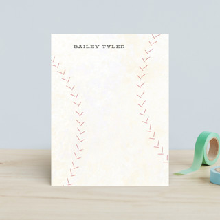 Curveball Children's Stationery