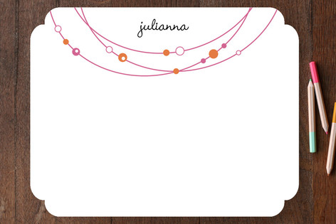 Bejeweled Children's Stationery