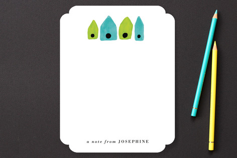 Birdhouse Children's Stationery