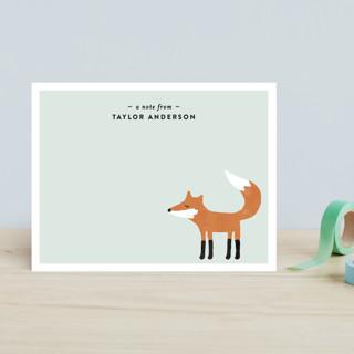Little Fox Children's Stationery