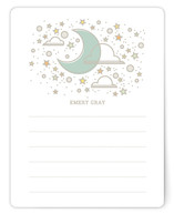 Over The Moon Note Card