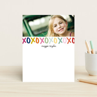Hugs and Kisses Children's Stationery