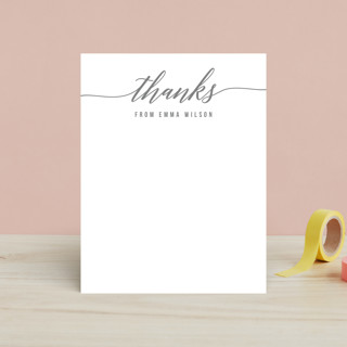 Simple Style Children's Stationery