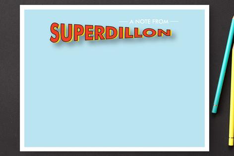 superhero Children's Stationery