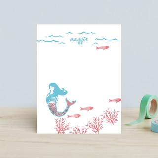 Darling Mermaid Children's Stationery