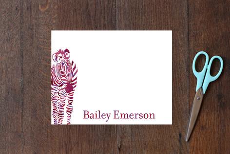 Zebra Children's Stationery