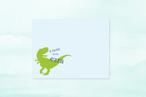 T-Rex Children's Stationery
