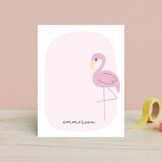 Sweet Flamingo Children's Stationery