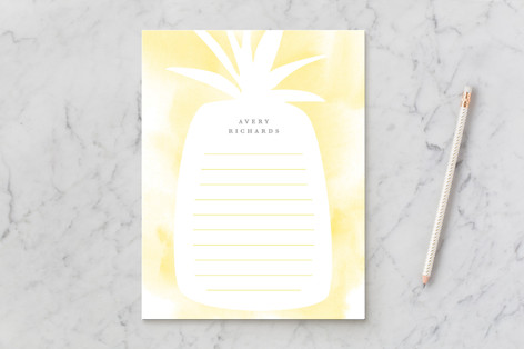 Pineapple cooler Children's Stationery