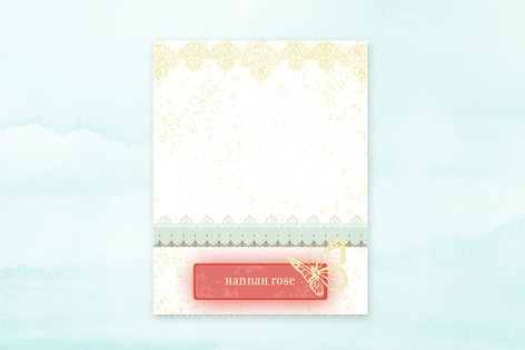 Handkerchief Children's Stationery