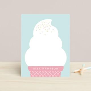 Ice Cream Dream Children's Stationery