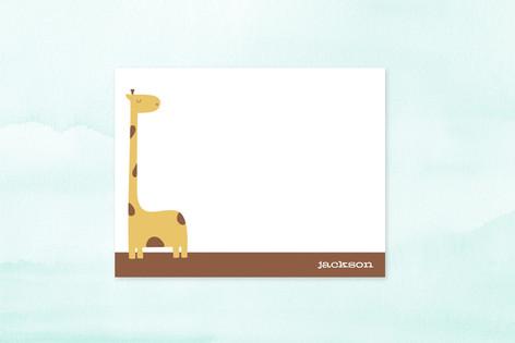 jack the giraffe Children's Stationery