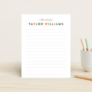 Bright Notes Children's Stationery