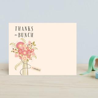 Thankful Bunch Children's Stationery