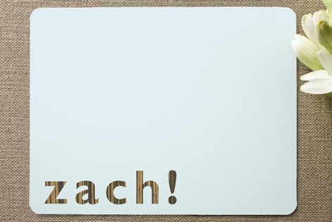 Zach Children's Stationery