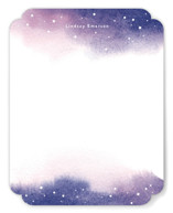 This is a blue kids thank you cards note by Shannon Chen called Starry Night with standard printing on signature in standard.