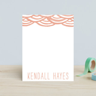 Watercolor Bunting Children's Stationery